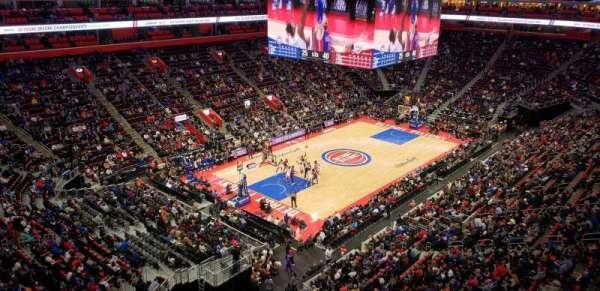 Little Caesars Arena, sección: HM17, fila: 2, asiento: 1
