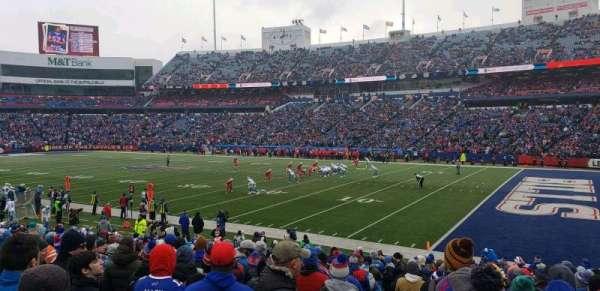 New Era Field, sección: 107, fila: 22, asiento: 21