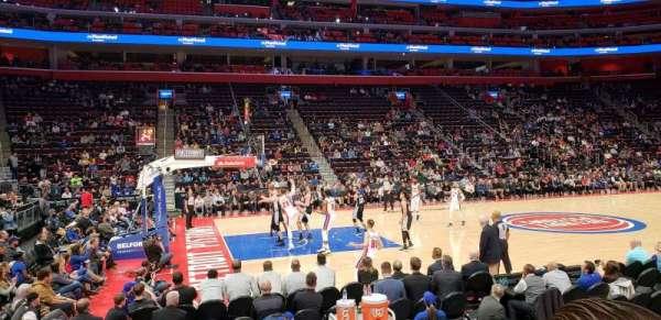 Little Caesars Arena, sección: 124, fila: 7, asiento: 15