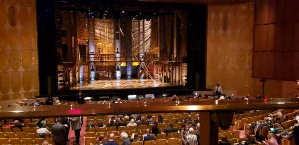 Fisher Theatre, sección: MZCTR, fila: A, asiento: 113