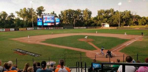 Jimmy John's Field, sección: 105, fila: 9, asiento: 1