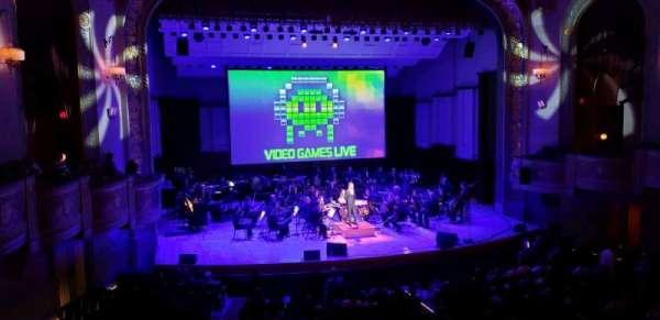 Orchestra Hall, sección: Box, fila: Q, asiento: 7