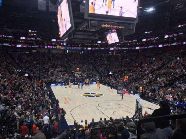Vivint Smart Home Arena, sección: 14, fila: 17, asiento: 1