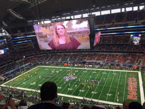 AT&T Stadium, sección: 439, fila: 14, asiento: 8