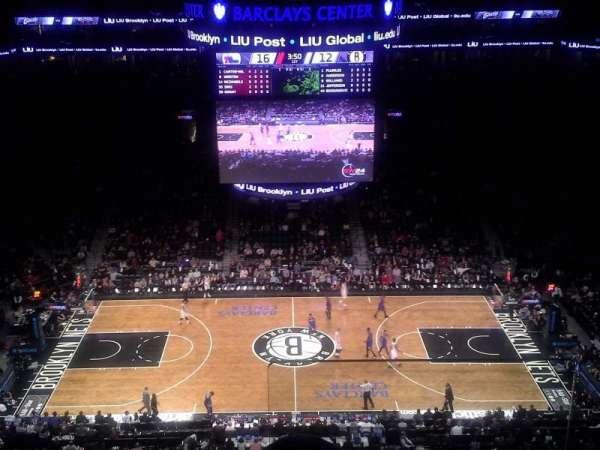 Barclays Center, sección: 209, fila: 9, asiento: 1