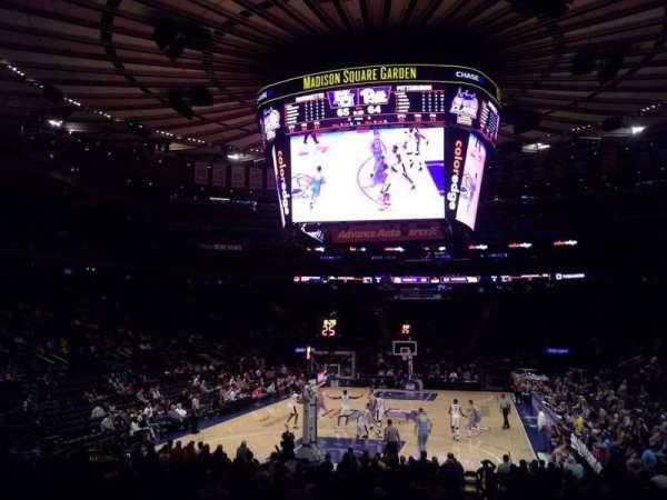 Madison Square Garden, sección: 103, fila: 10, asiento: 1