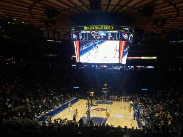Madison Square Garden, sección: 103, fila: 20, asiento: 22