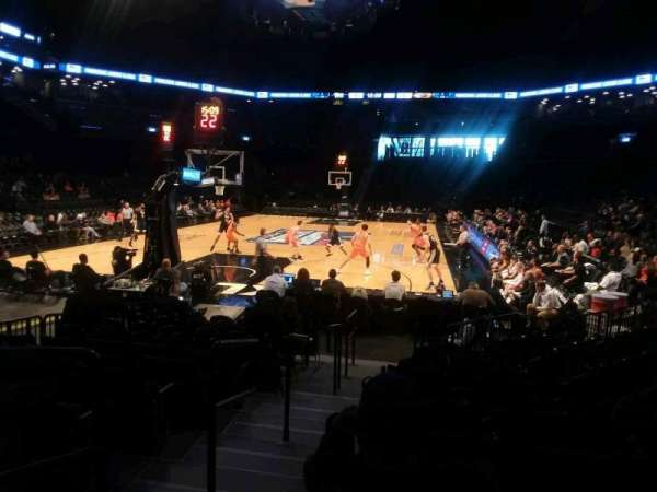 Barclays Center, sección: 15, fila: 13