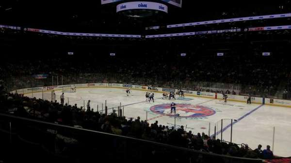 Barclays Center, sección: 20, fila: 19
