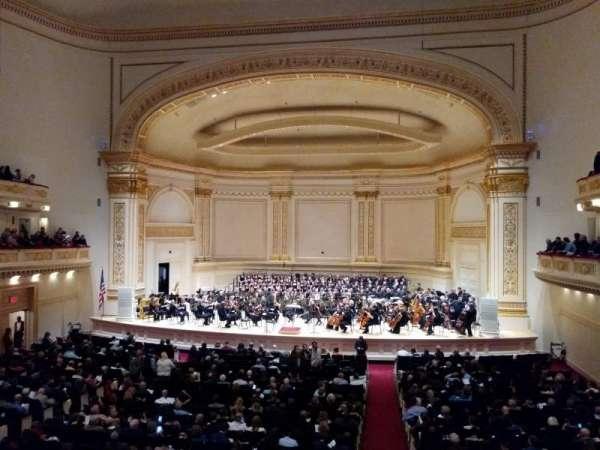 Carnegie Hall, sección: Box 29, fila: 1, asiento: 3
