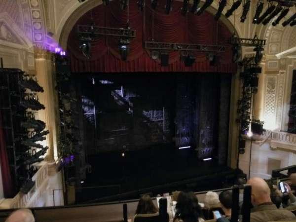 Samuel J. Friedman Theatre, sección: Mezzanine L, fila: C, asiento: 1