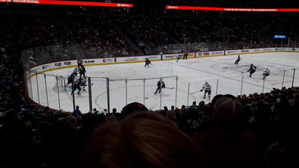 Pepsi Center, sección: 106, fila: 18, asiento: 19