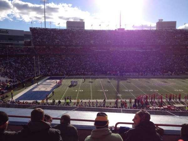 New Era Field, sección: 214, fila: 4, asiento: 8