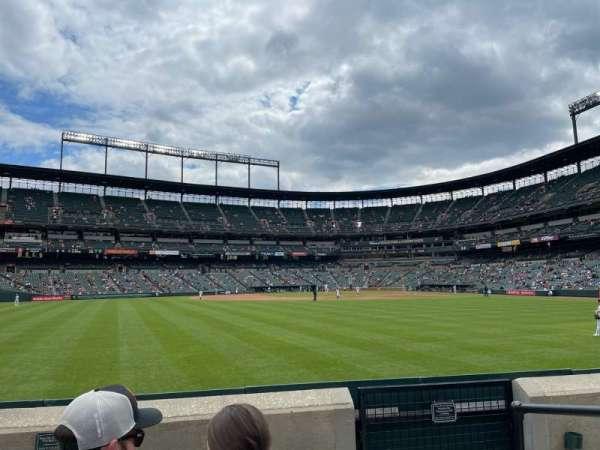 Oriole Park at Camden Yards, sección: 86, fila: 4, asiento: 2