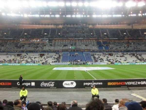 Stade de France, sección: Tribune Base- Est G5, fila: 10, asiento: 10