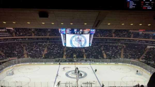 Madison Square Garden, sección: 224, fila: 15, asiento: 6