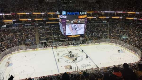 PPG Paints Arena, sección: 221, fila: L, asiento: 7