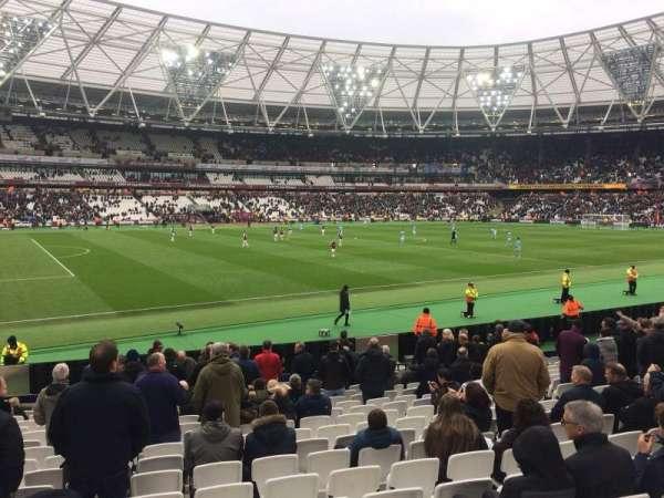London Stadium, sección: 133, fila: 17, asiento: 346