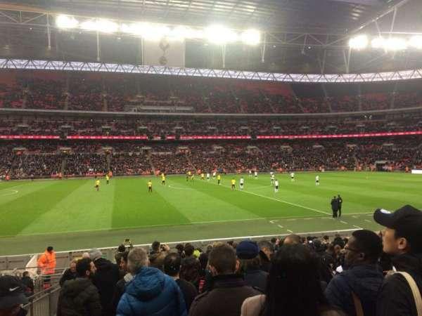 Wembley Stadium, sección: 102, fila: 18, asiento: 67