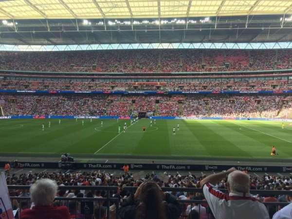Wembley Stadium, sección: 122, fila: 31, asiento: 299