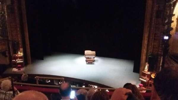 Palace Theatre (Broadway), sección: L Mezz, fila: D, asiento: 2,4,6,8,10