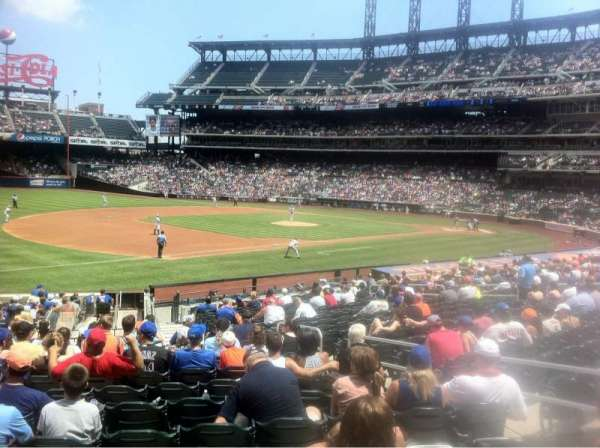 Citi Field, sección: 125, fila: 23, asiento: 8
