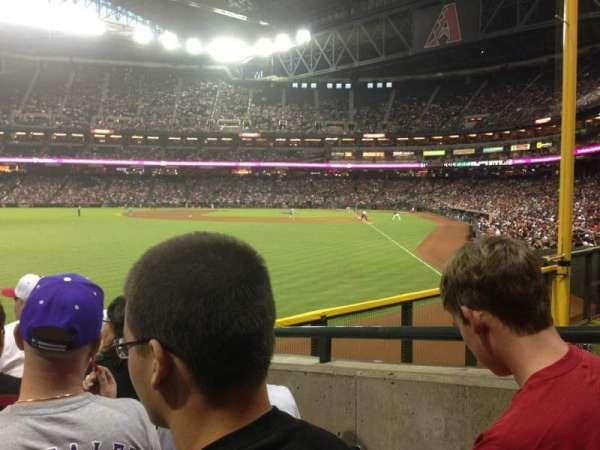 Chase Field, sección: 138, fila: 22, asiento: 11