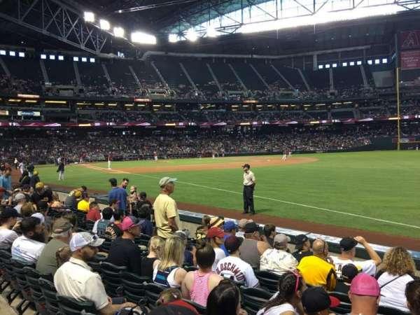Chase Field, sección: 111, fila: 7, asiento: 3