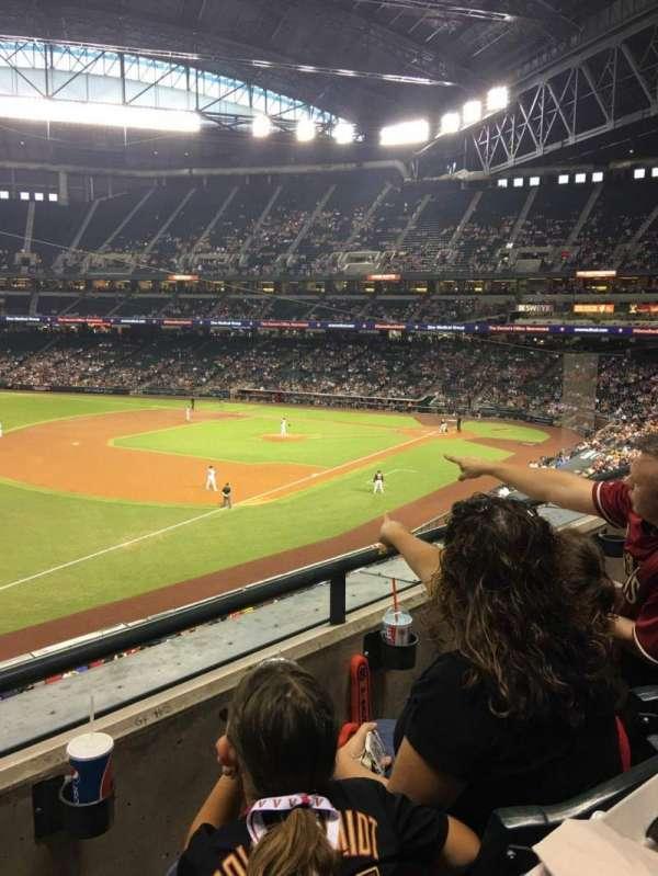 Chase Field, sección: 217, fila: 2, asiento: 18
