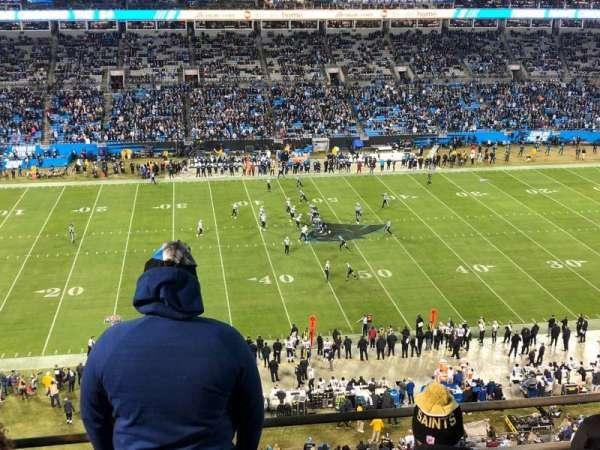 Bank of America Stadium, sección: 516, fila: 1A, asiento: 11-12