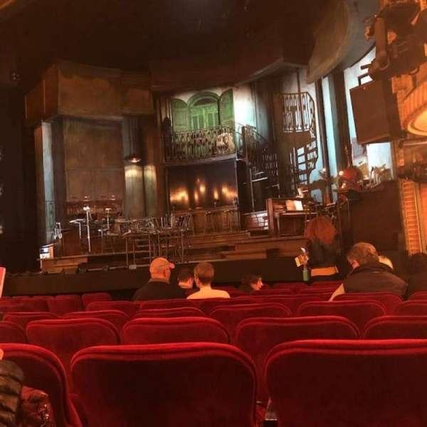 Walter Kerr Theatre, sección: Orchestra, fila: L, asiento: 14