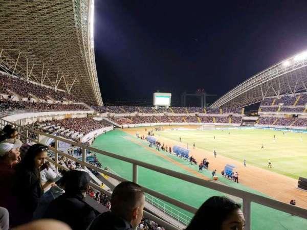 Estadio Nacional de Costa Rica, sección: Sombra Oeste O-5, fila: B, asiento: 41