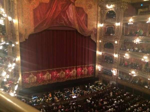 Teatro Colón, sección: Cazuela lateral, fila: 1, asiento: 39
