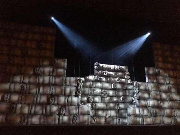 Complejo Teatral Gral San Martín, sección: Main, fila: 3, asiento: 11