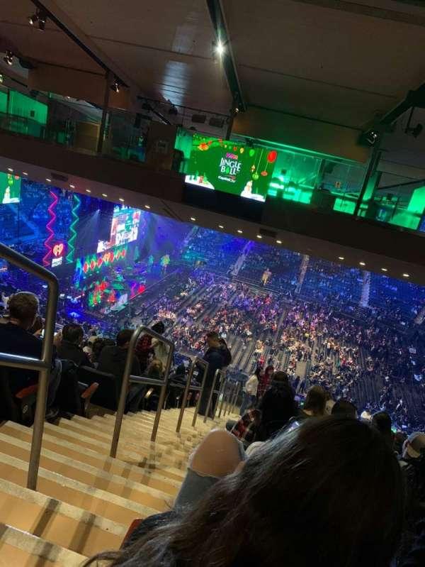 Madison Square Garden, sección: 225, fila: 23, asiento: 1
