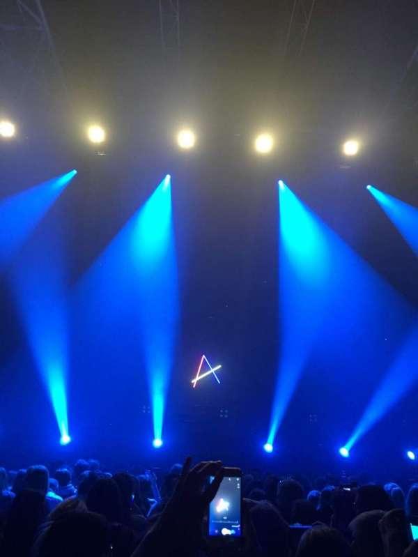 Zénith de Paris - La Villette, sección: A, asiento: 248
