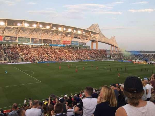 Talen Energy Stadium, sección: 112, fila: V, asiento: 105
