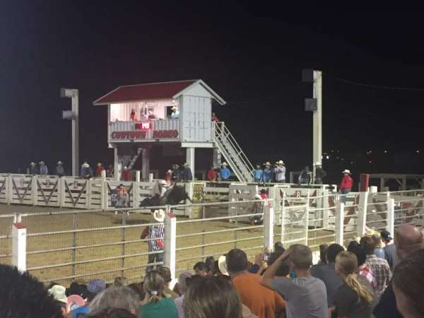 Cowtown Rodeo, sección: General Admission, fila: 8 , asiento: South Bleachers