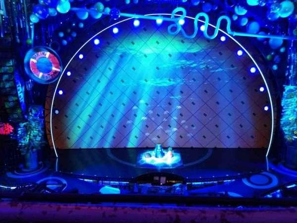 Palace Theatre (Broadway), sección: Mezzanine, fila: A, asiento: 107