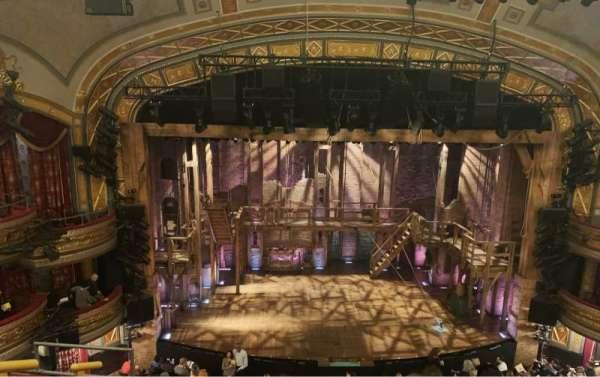 Richard Rodgers Theatre, sección: Front Mezzanine C, fila: E, asiento: 112