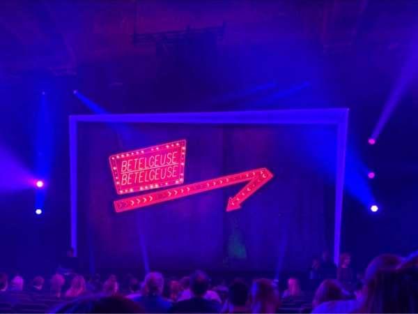 Winter Garden Theatre, sección: Orchestra C, fila: P, asiento: 103