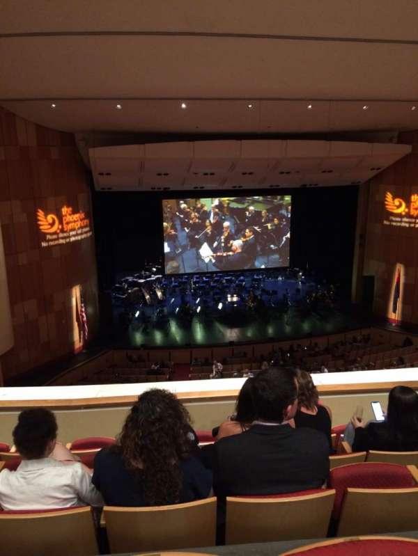 Phoenix Symphony Hall, sección: 10, fila: 5, asiento: 49