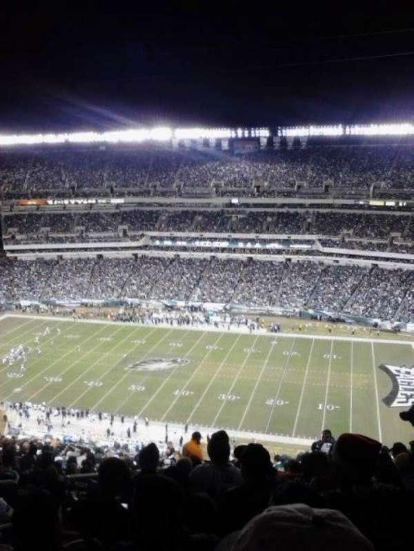 Lincoln Financial Field, sección: 228, fila: 29, asiento: 31