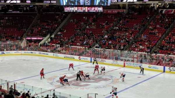 PNC Arena, sección: 101, fila: XX, asiento: 6