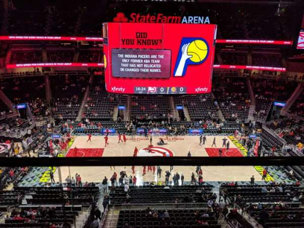 State Farm Arena, sección: 209, fila: A, asiento: 13