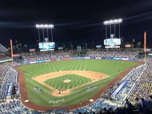 Dodger Stadium, sección: 2RS, fila: O, asiento: 17