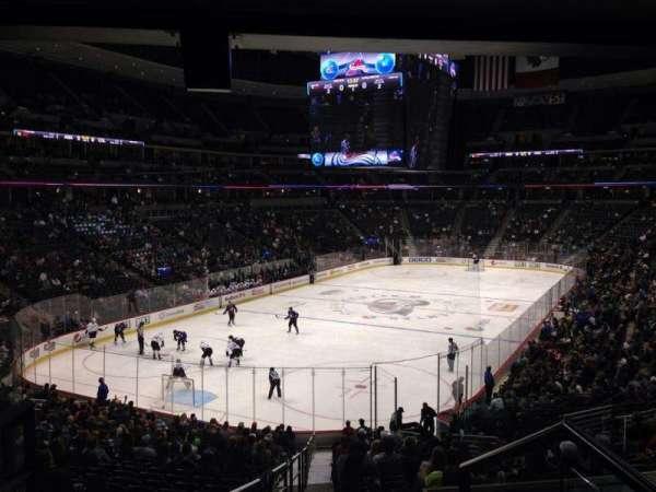 Pepsi Center, sección: 132, fila: 14, asiento: 3