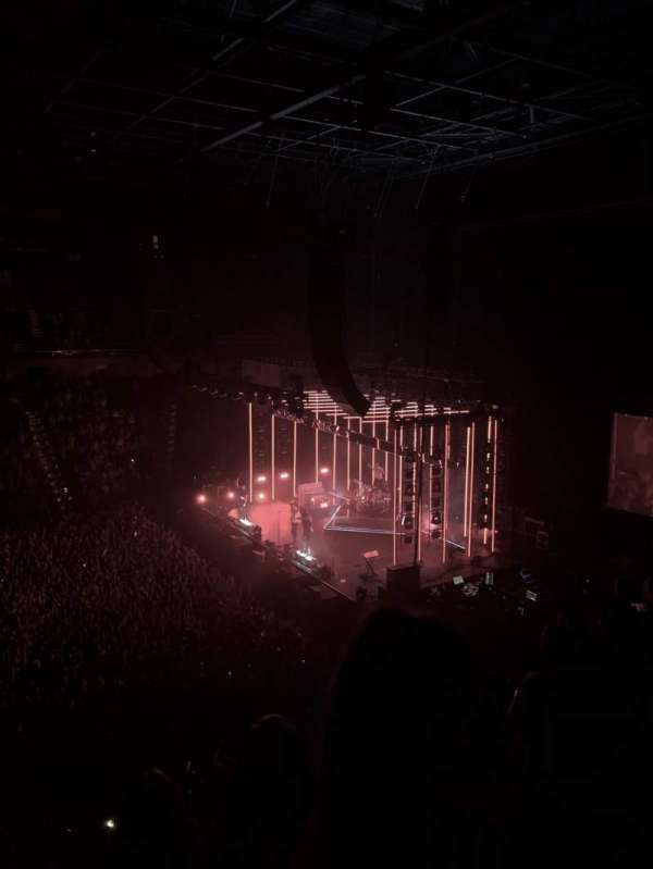 Mohegan Sun Arena, sección: 106, fila: E, asiento: 14