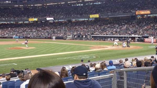 Yankee Stadium, sección: 125, fila: 15, asiento: 3
