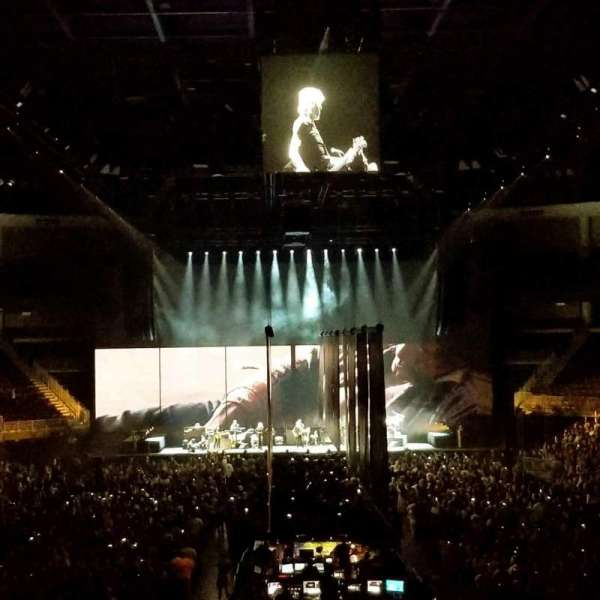 Infinite Energy Arena, sección: 100, fila: x, asiento: 26